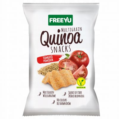 QUINOA Snacks POMIDOROWE FREEYU 70g BIOLOGICO