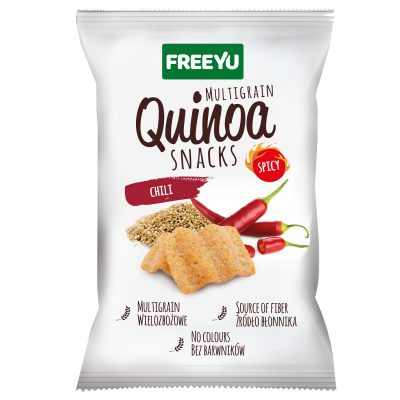 QUINOA Snacks chilli FREEYU 70g BIOLOGICO