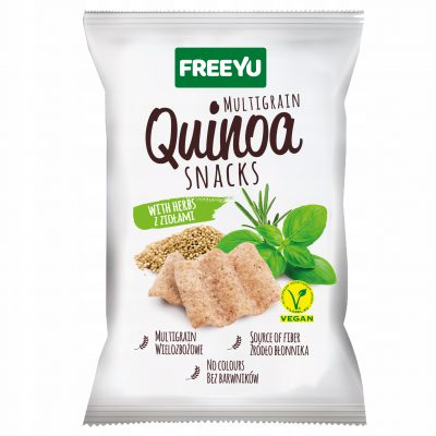 QUINOA Snacks z ziołami FREEYU 70g BIOLOGICO