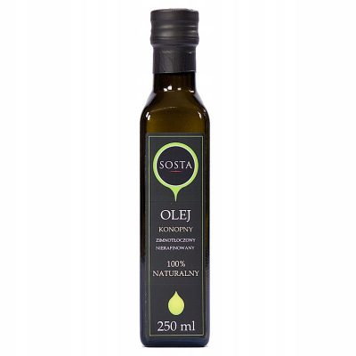 OLEJ KONOPNY SOSTA 250 ML BIOLOGICO